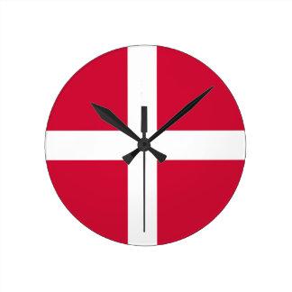 denmark round clock