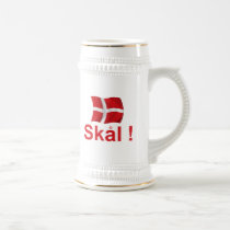 Denmark Skal! Beer Stein
