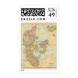 Denmark, Sleswig, Holstein Stamp