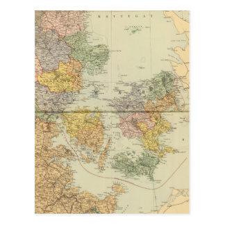 Denmark, Sleswig, Holstein Postcard