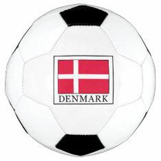 Denmark Soccer Ball at Zazzle