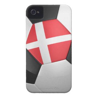 Denmark Soccer Ball Case-Mate iPhone 4 Case