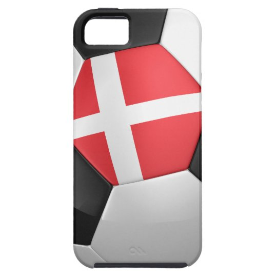 Denmark Soccer Ball iPhone SE/5/5s Case