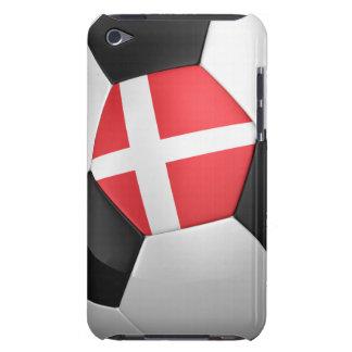 Denmark Soccer Ball iPod Case-Mate Case
