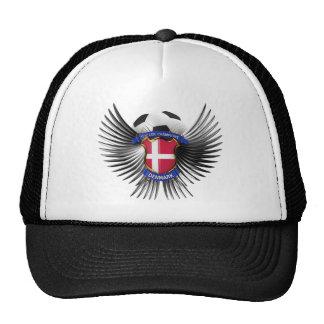 Denmark Soccer Champions Mesh Hats