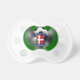 Denmark Soccer Champions Baby Pacifier