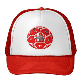 Denmark soccer fans Tees and football gifts Trucker Hat