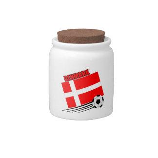 Denmark - Soccer Team Candy Jar