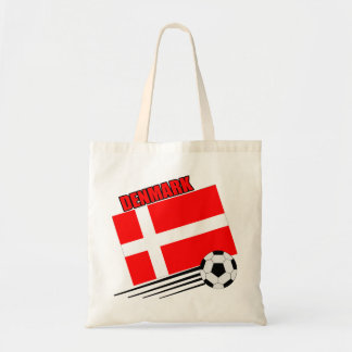 Denmark - Soccer Team Canvas Bag