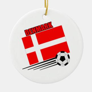 Denmark - Soccer Team Christmas Tree Ornament