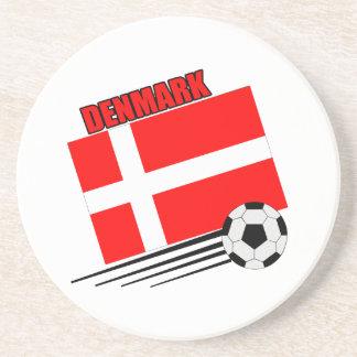 Denmark - Soccer Team Coasters