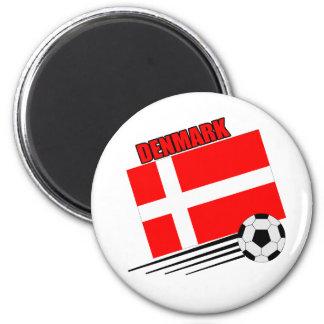 Denmark - Soccer Team Fridge Magnet
