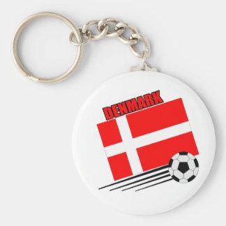 Denmark - Soccer Team Keychains