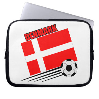 Denmark - Soccer Team Laptop Computer Sleeve