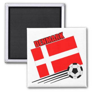 Denmark - Soccer Team Magnets