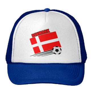 Denmark - Soccer Team Mesh Hat
