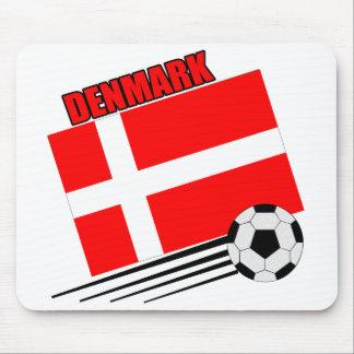 Denmark - Soccer Team Mousepad