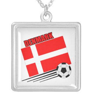 Denmark - Soccer Team Necklaces