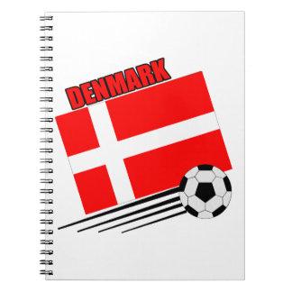 Denmark - Soccer Team Notebook