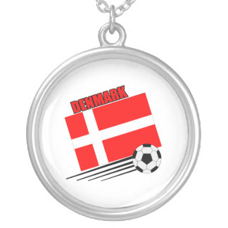 Denmark - Soccer Team Personalized Necklace