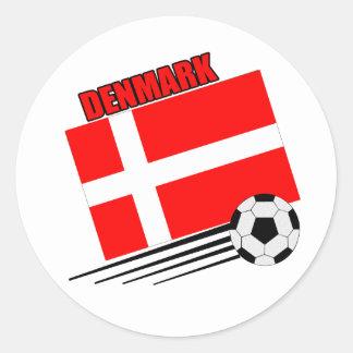 Denmark - Soccer Team Stickers