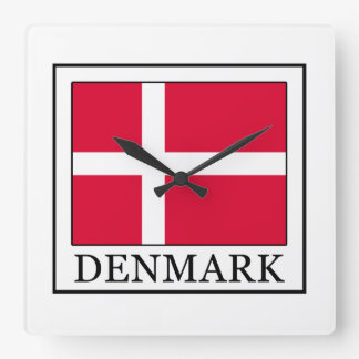 Denmark Square Wall Clock