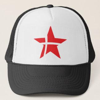 denmark star icon trucker hat
