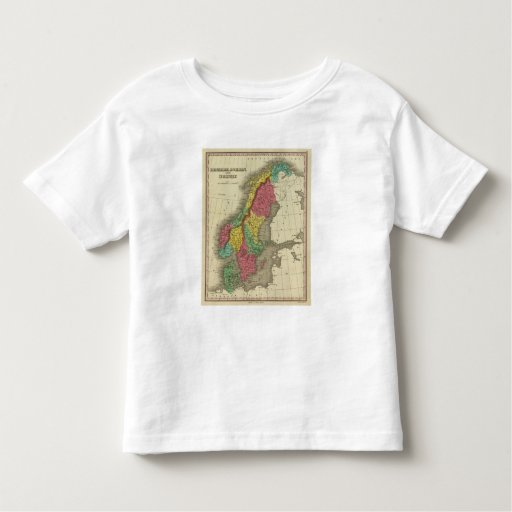 Denmark, Sweden, And Norway Toddler T-shirt