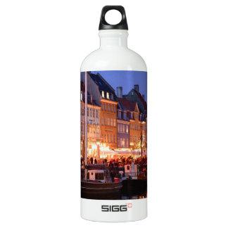 Denmark the night Angie.JPG Aluminum Water Bottle