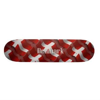 Denmark Waving Flag Skate Deck