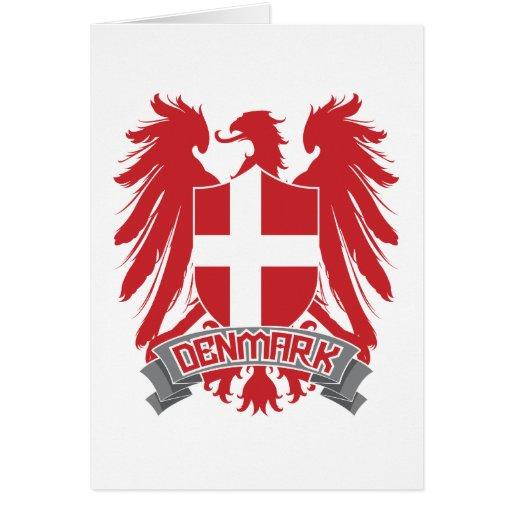 Denmark Winged Greeting Card