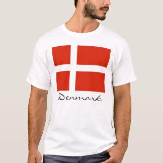 Denmark with Dannebrog T-Shirt