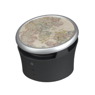 Denmark with inset map of Iceland Bluetooth Speaker
