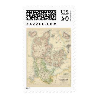 Denmark with Schleswig and Holstein Postage