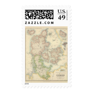 Denmark with Schleswig and Holstein Stamps