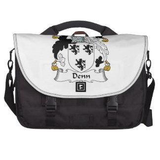 Denn Family Crest Laptop Computer Bag