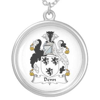 Denn Family Crest Pendant