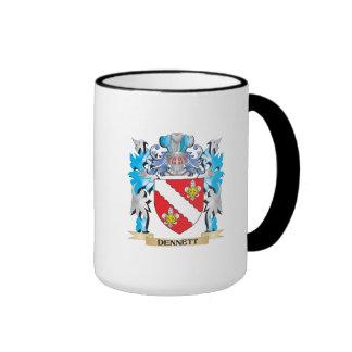 Dennett Coat of Arms - Family Crest Mug