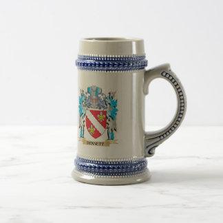 Dennett Coat of Arms - Family Crest Coffee Mug