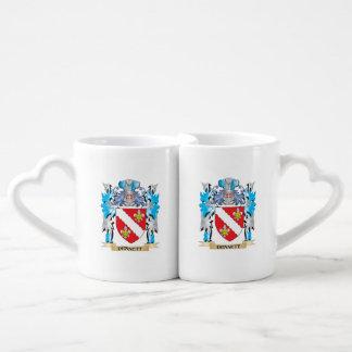 Dennett Coat of Arms - Family Crest Lovers Mug Set
