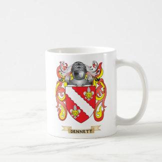 Dennett Coat of Arms Coffee Mugs