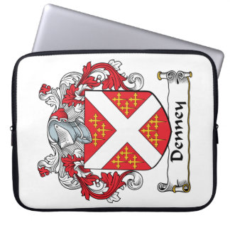 Denney Family Crest Computer Sleeve