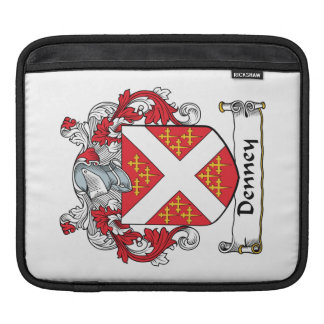 Denney Family Crest iPad Sleeves