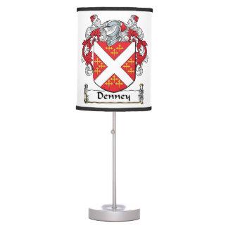 Denney Family Crest Lamps