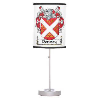 Denney Family Crest Table Lamps