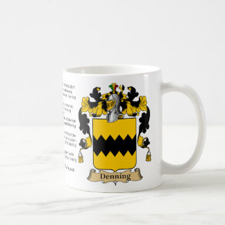 Denning Family Reunion Classic White Coffee Mug