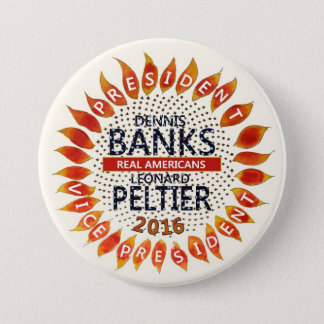 Dennis Banks for President 2016 Pinback Button