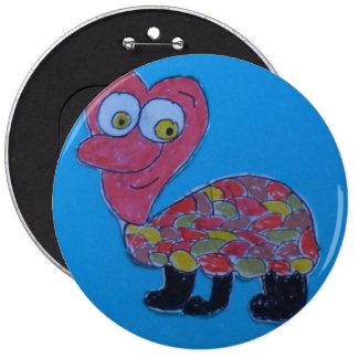 Dennis Colossal Round Badge Pinback Button