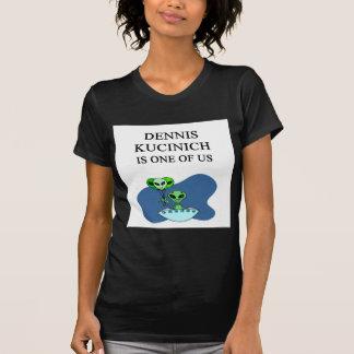 dennis kucinich, alien t-shirts