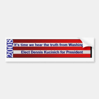 Dennis Kucinich - Customized Bumper Sticker